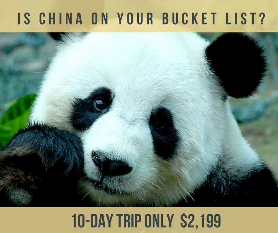 Is China on your bucket list