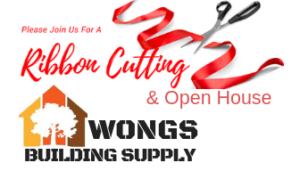 Ribbon Cutting Wong's Building Supply @ Wong's Building Supply  | Wilsonville | Oregon | United States