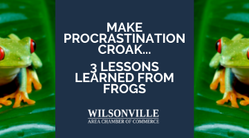 Make Procrastination Croak… 3 Lessons Learned From Frogs