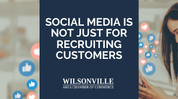 Social Media Is Not Just for Recruiting Customers