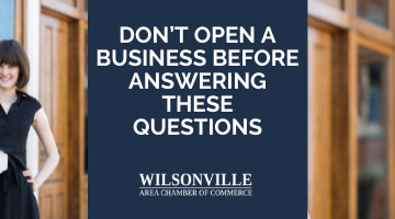 Don't Open a Business Before Answering These Questions