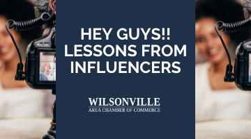 Hey Guys!! Lessons from Influencers